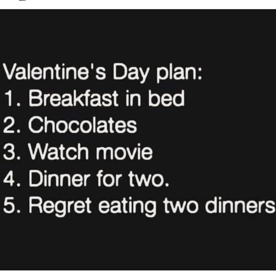 Valentines day plan