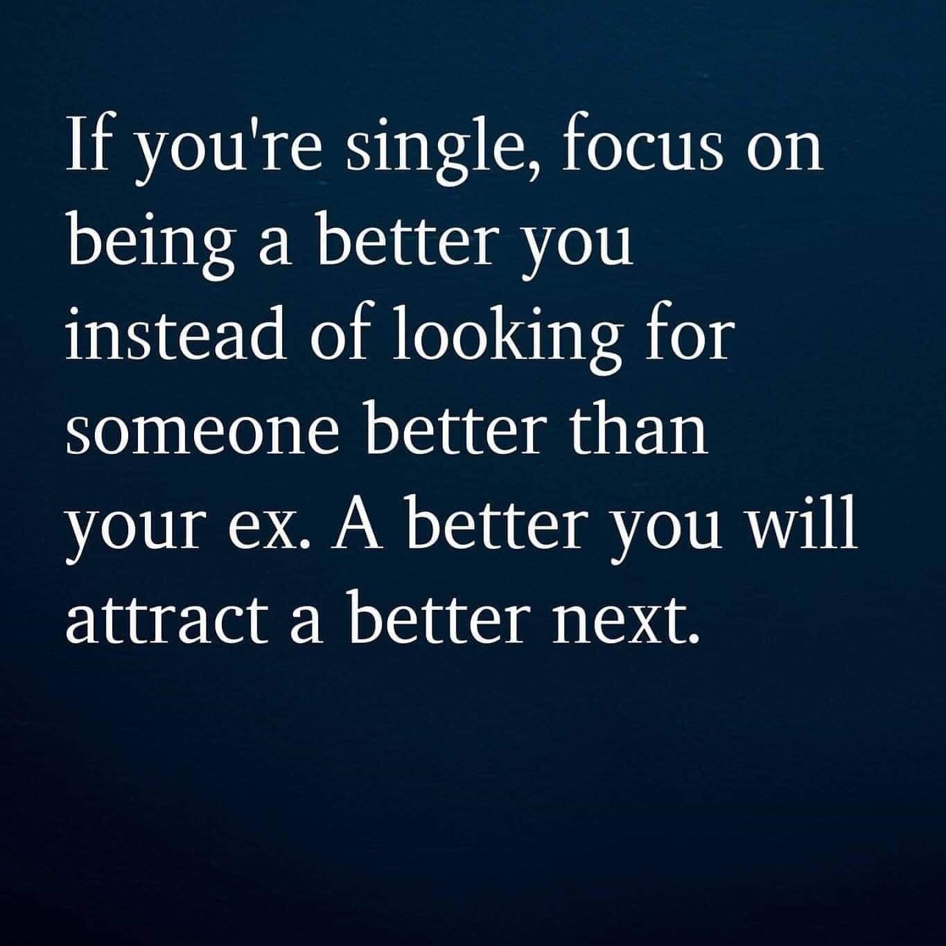 A better you attract a better next
